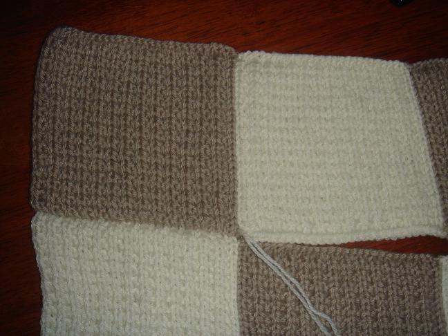 Comment tricoter une couverture en laine