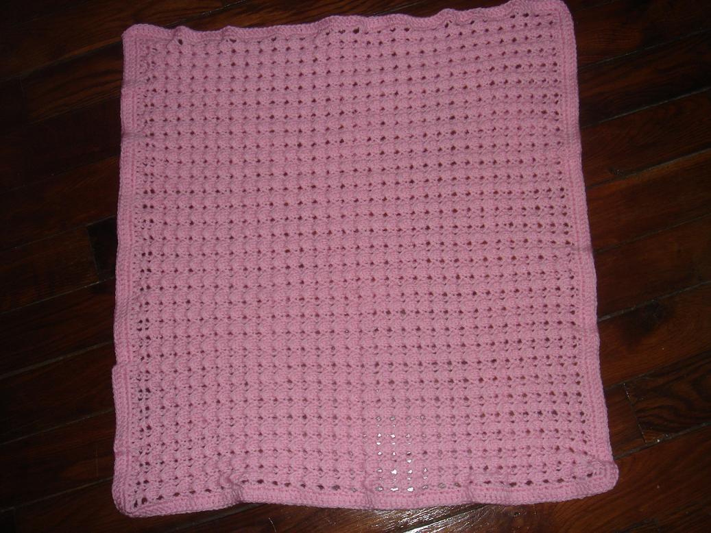 comment tricoter couverture bébé